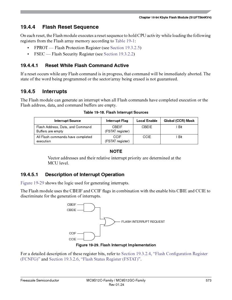 MC9S12GC96VFUE ,Freescale Semiconductor厂商,IC MCU 96K FLASH 25MHZ 80-QFP, MC9S12GC96VFUE datasheet预览  第573页