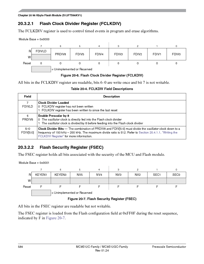 MC9S12GC96VFUE ,Freescale Semiconductor厂商,IC MCU 96K FLASH 25MHZ 80-QFP, MC9S12GC96VFUE datasheet预览  第584页