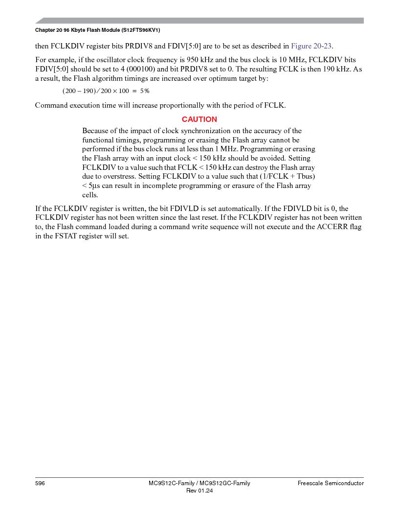 MC9S12GC96VFUE ,Freescale Semiconductor厂商,IC MCU 96K FLASH 25MHZ 80-QFP, MC9S12GC96VFUE datasheet预览  第596页