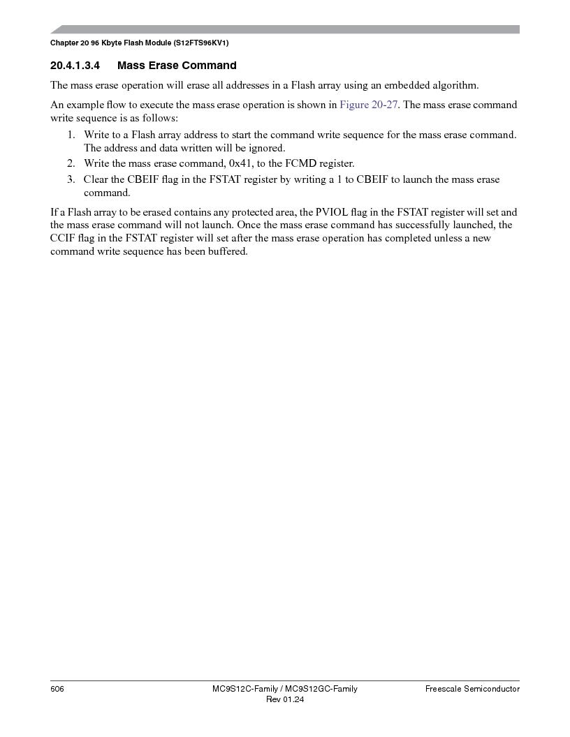 MC9S12GC96VFUE ,Freescale Semiconductor厂商,IC MCU 96K FLASH 25MHZ 80-QFP, MC9S12GC96VFUE datasheet预览  第606页