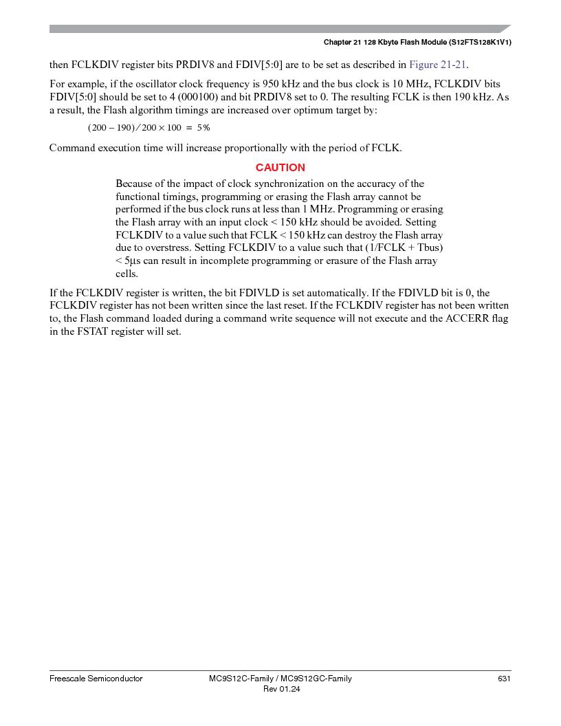 MC9S12GC96VFUE ,Freescale Semiconductor厂商,IC MCU 96K FLASH 25MHZ 80-QFP, MC9S12GC96VFUE datasheet预览  第631页