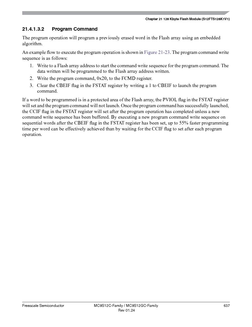 MC9S12GC96VFUE ,Freescale Semiconductor厂商,IC MCU 96K FLASH 25MHZ 80-QFP, MC9S12GC96VFUE datasheet预览  第637页