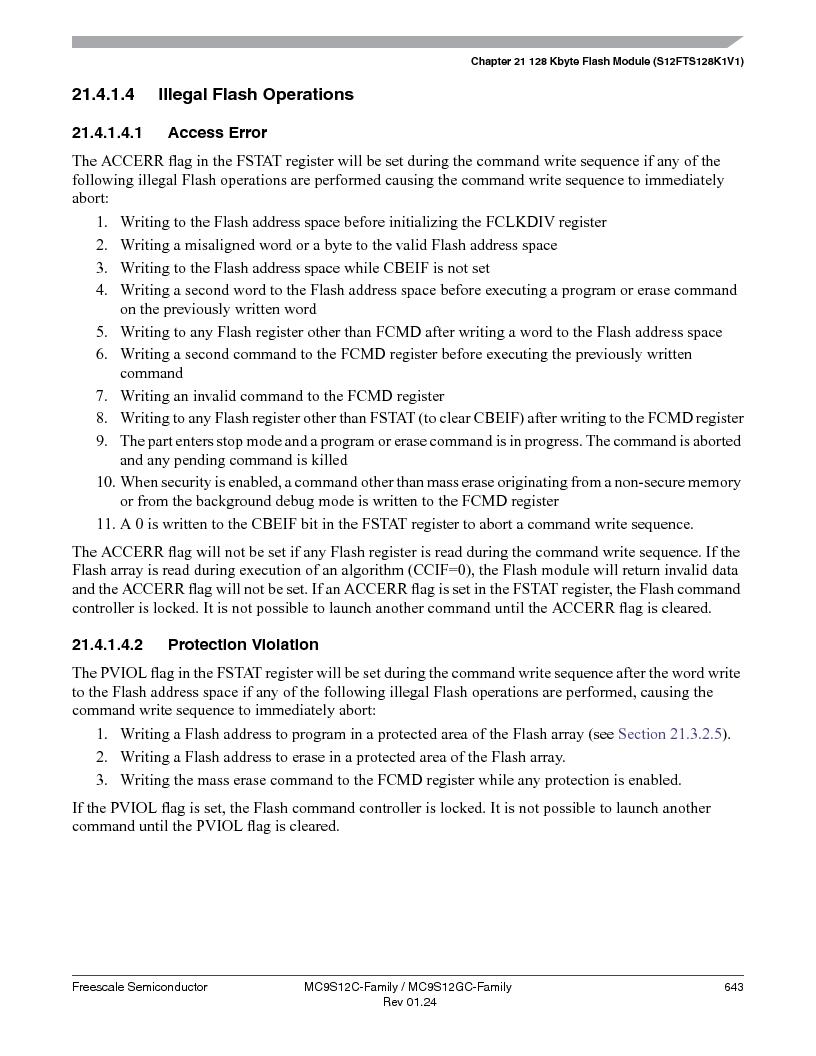 MC9S12GC96VFUE ,Freescale Semiconductor厂商,IC MCU 96K FLASH 25MHZ 80-QFP, MC9S12GC96VFUE datasheet预览  第643页