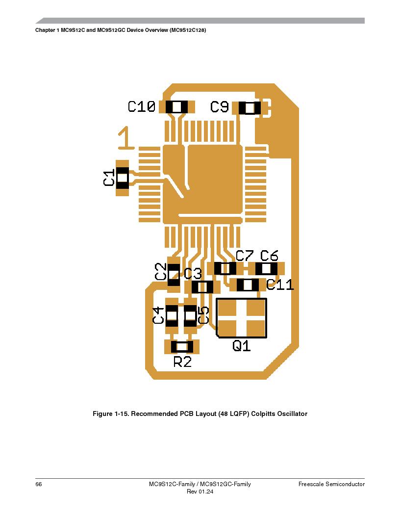 MC9S12GC96VFUE ,Freescale Semiconductor厂商,IC MCU 96K FLASH 25MHZ 80-QFP, MC9S12GC96VFUE datasheet预览  第66页