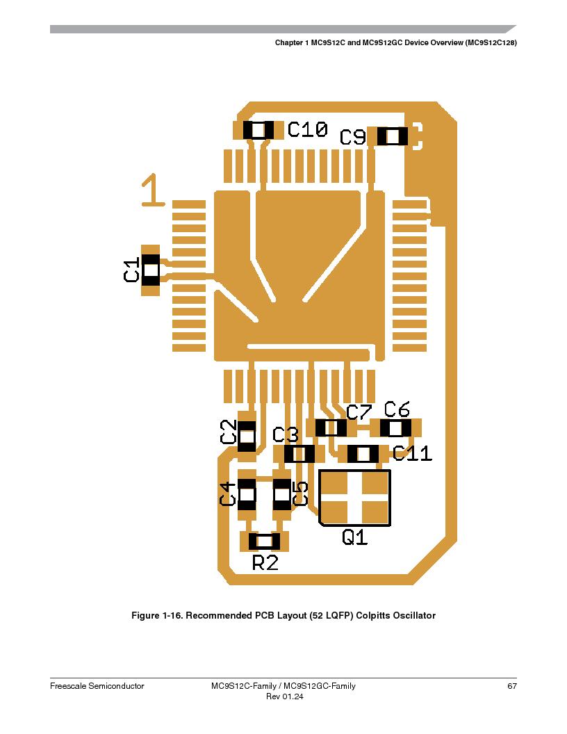MC9S12GC96VFUE ,Freescale Semiconductor厂商,IC MCU 96K FLASH 25MHZ 80-QFP, MC9S12GC96VFUE datasheet预览  第67页