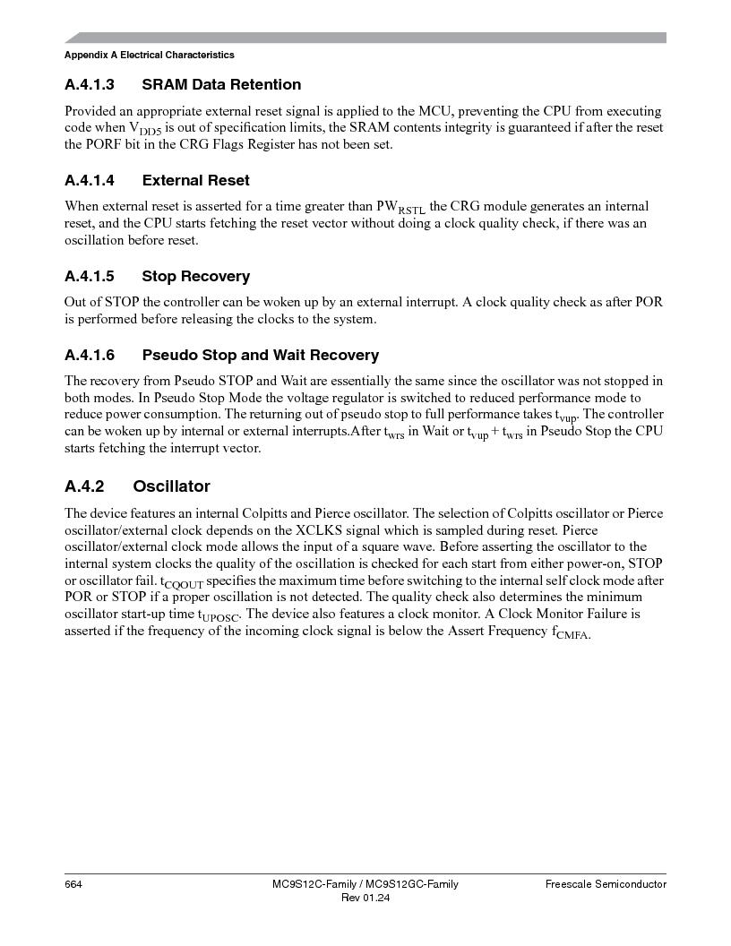 MC9S12GC96VFUE ,Freescale Semiconductor厂商,IC MCU 96K FLASH 25MHZ 80-QFP, MC9S12GC96VFUE datasheet预览  第664页