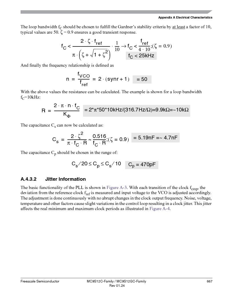 MC9S12GC96VFUE ,Freescale Semiconductor厂商,IC MCU 96K FLASH 25MHZ 80-QFP, MC9S12GC96VFUE datasheet预览  第667页