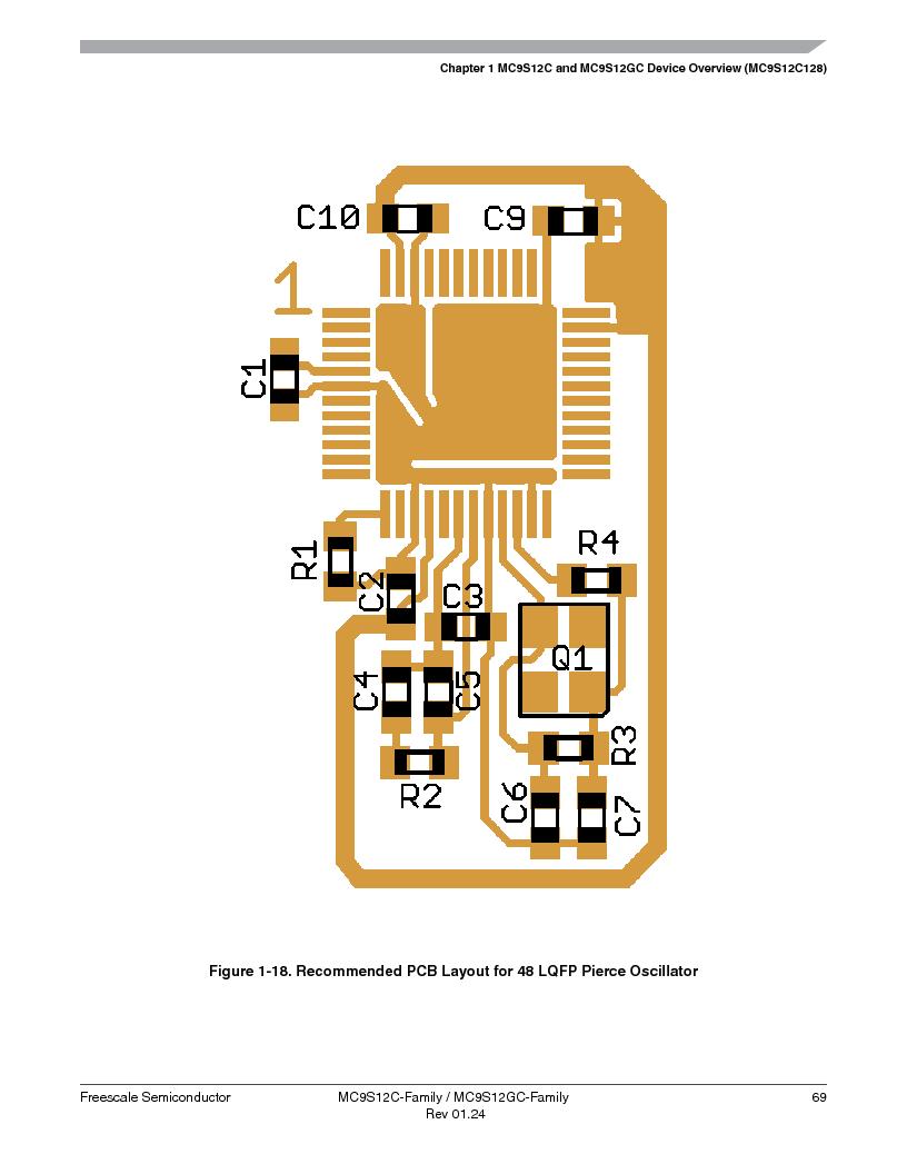 MC9S12GC96VFUE ,Freescale Semiconductor厂商,IC MCU 96K FLASH 25MHZ 80-QFP, MC9S12GC96VFUE datasheet预览  第69页