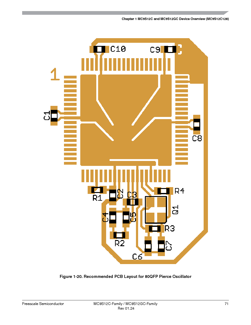 MC9S12GC96VFUE ,Freescale Semiconductor厂商,IC MCU 96K FLASH 25MHZ 80-QFP, MC9S12GC96VFUE datasheet预览  第71页