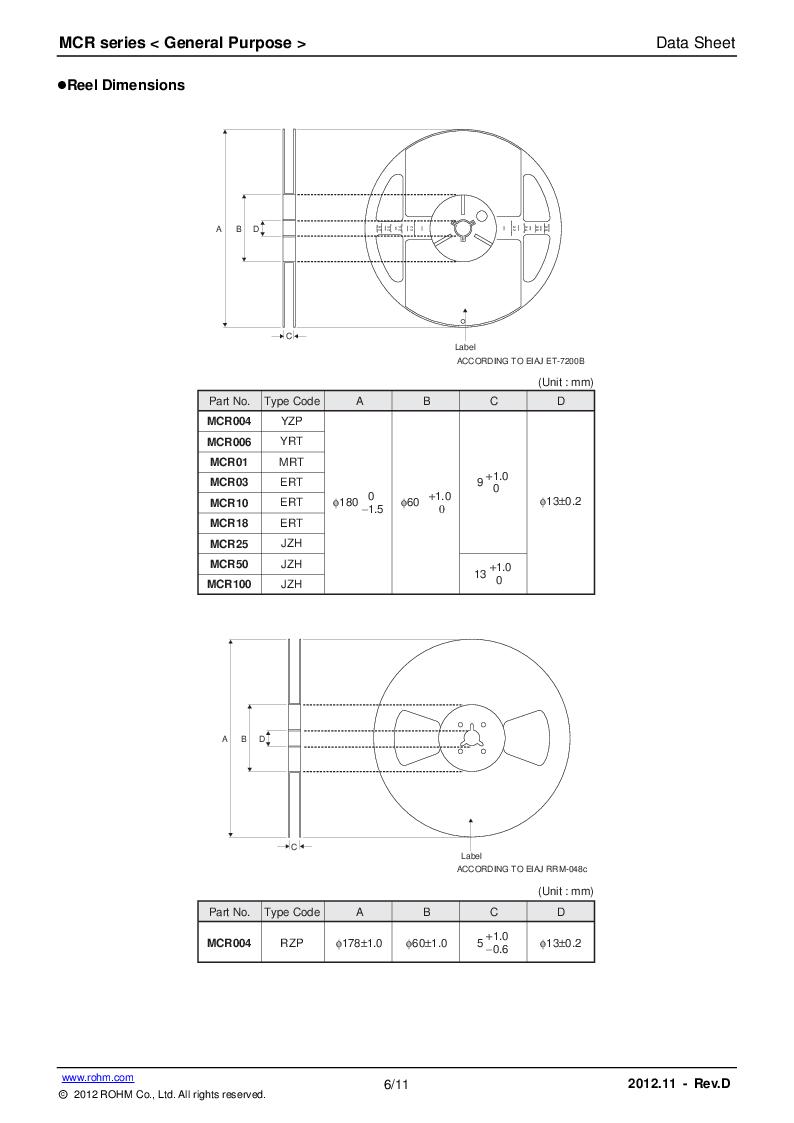 �z-(����ojz/k�.�_rohm semiconductor厂商,res 470k ohm 1w 5% 2512 smd, mcr100jzhj
