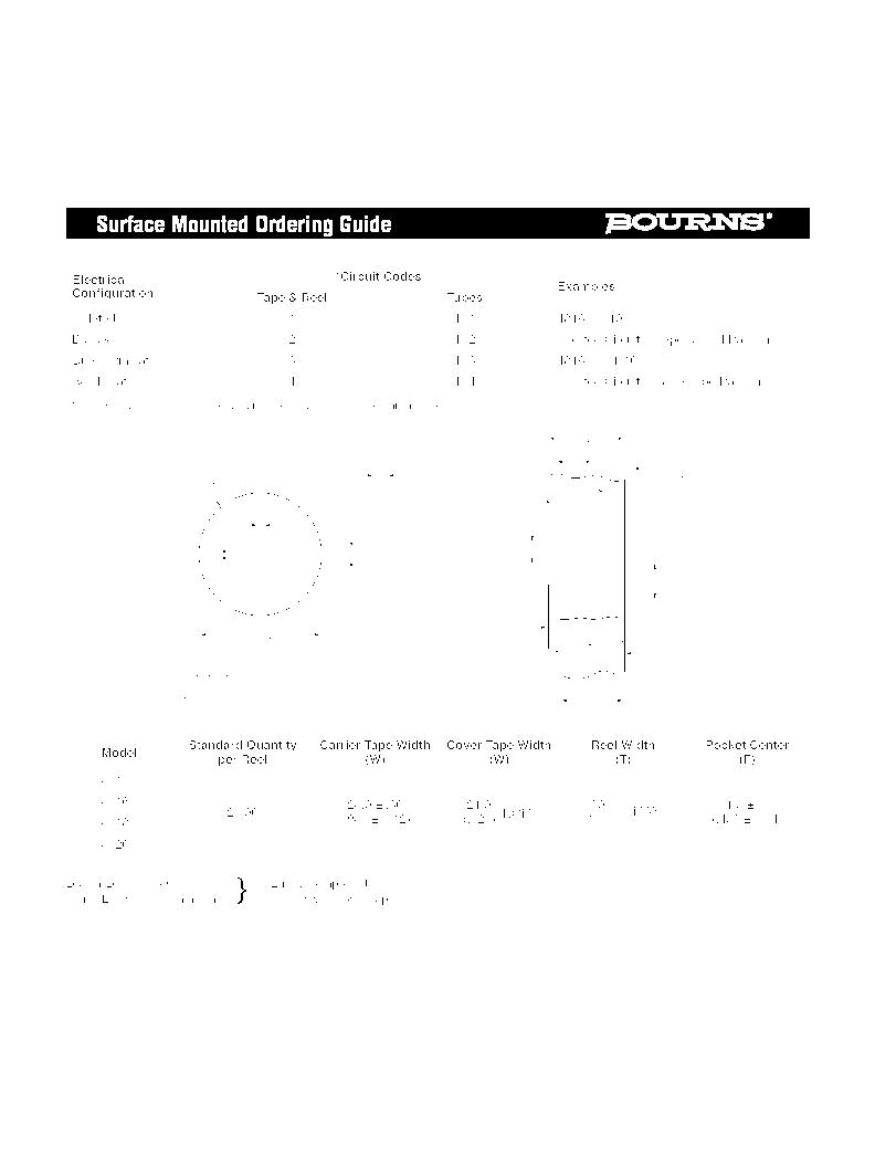 4814P-T01-473LF ,Bourns Inc.厂商,RES ARRAY 47K OHM 7 RES 14-SOIC, 4814P-T01-473LF datasheet预览  第3页
