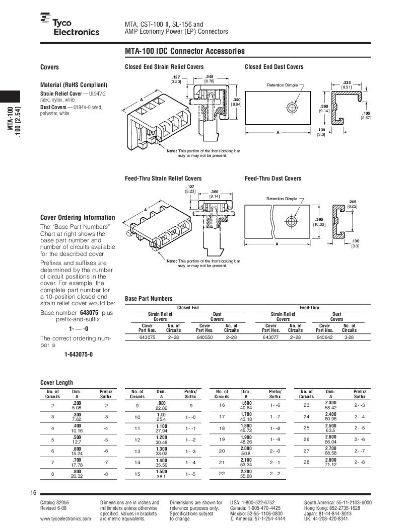 1-640455-4 ,TE Connectivity厂商,Headers & Wire Housings POLARIZED HEADER 14P Right Angle Post tin, 1-640455-4 datasheet预览  第16页