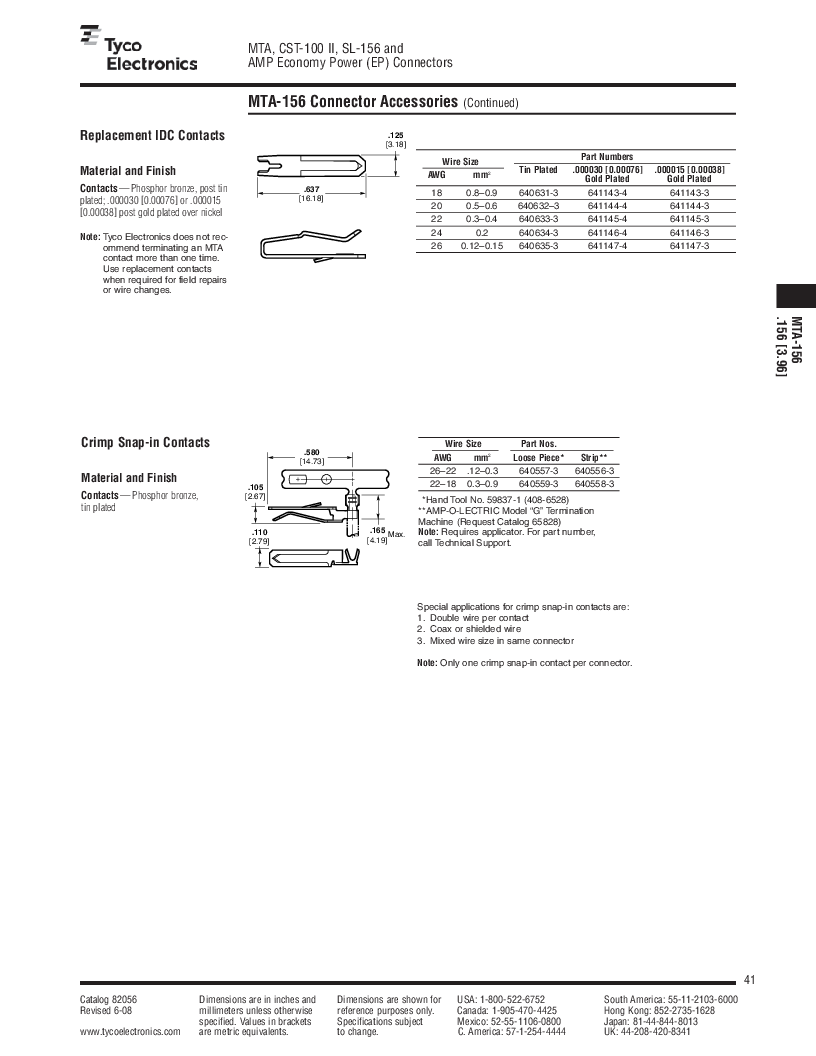 1-640455-4 ,TE Connectivity厂商,Headers & Wire Housings POLARIZED HEADER 14P Right Angle Post tin, 1-640455-4 datasheet预览  第41页