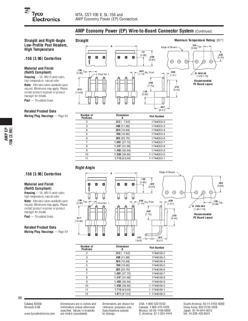 1-640455-4 ,TE Connectivity厂商,Headers & Wire Housings POLARIZED HEADER 14P Right Angle Post tin, 1-640455-4 datasheet预览  第66页