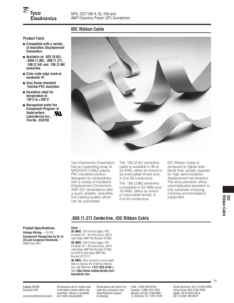 1-640455-4 ,TE Connectivity厂商,Headers & Wire Housings POLARIZED HEADER 14P Right Angle Post tin, 1-640455-4 datasheet预览  第71页