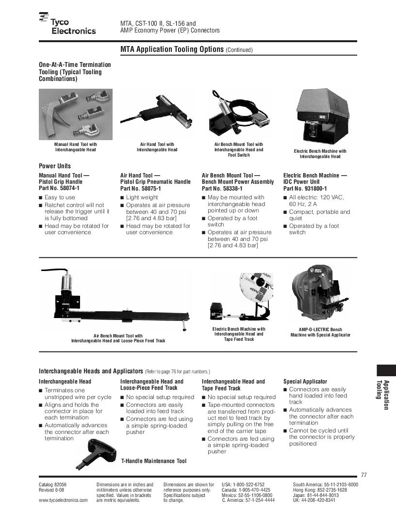 1-640455-4 ,TE Connectivity厂商,Headers & Wire Housings POLARIZED HEADER 14P Right Angle Post tin, 1-640455-4 datasheet预览  第77页