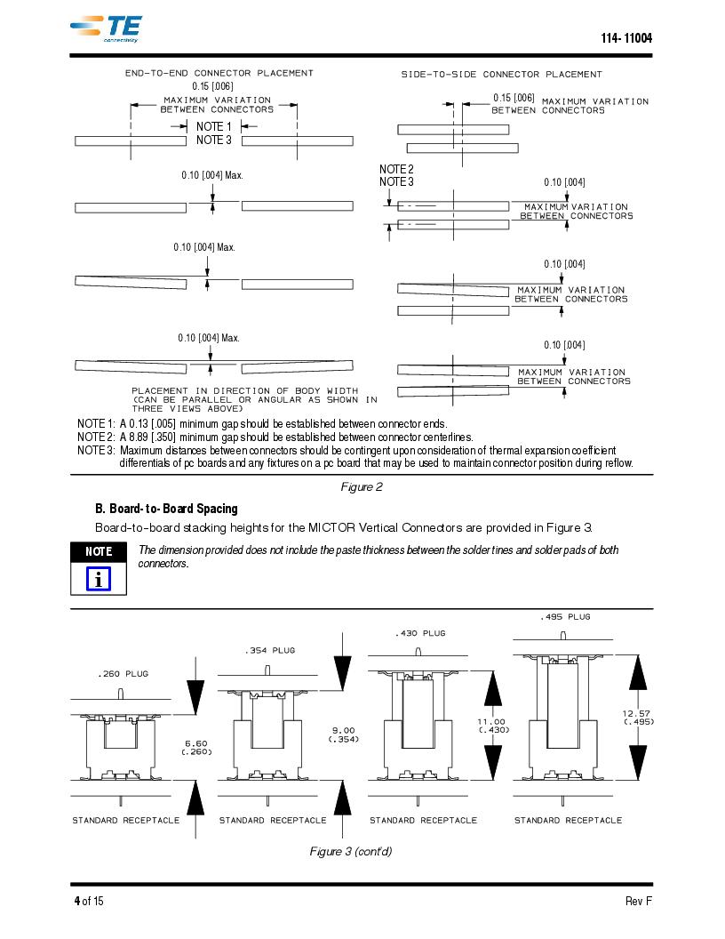1-5767114-2 ,TE Connectivity厂商,CONN RCPT 190POS VERT BARBLESS, 1-5767114-2 datasheet预览  第4页