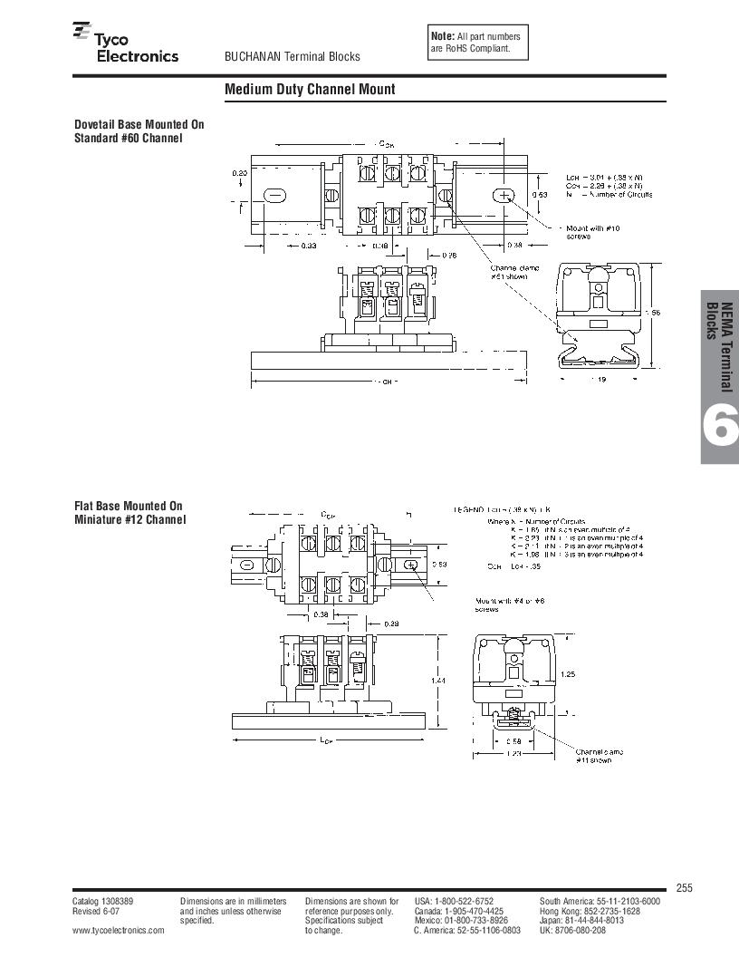 1-1437392-8 ,TE Connectivity厂商,DIN Rail Terminal Blocks TERM BLOCK END SECTION NEMA GRAY, 1-1437392-8 datasheet预览  第17页