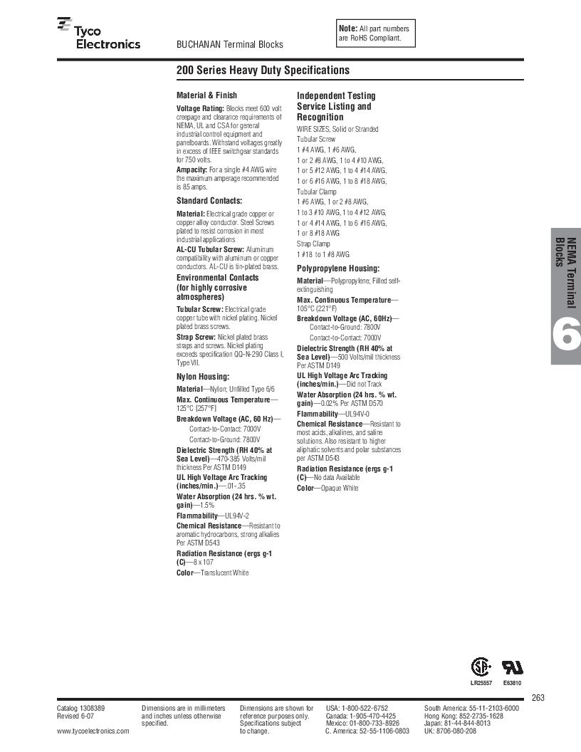 1-1437392-8 ,TE Connectivity厂商,DIN Rail Terminal Blocks TERM BLOCK END SECTION NEMA GRAY, 1-1437392-8 datasheet预览  第25页
