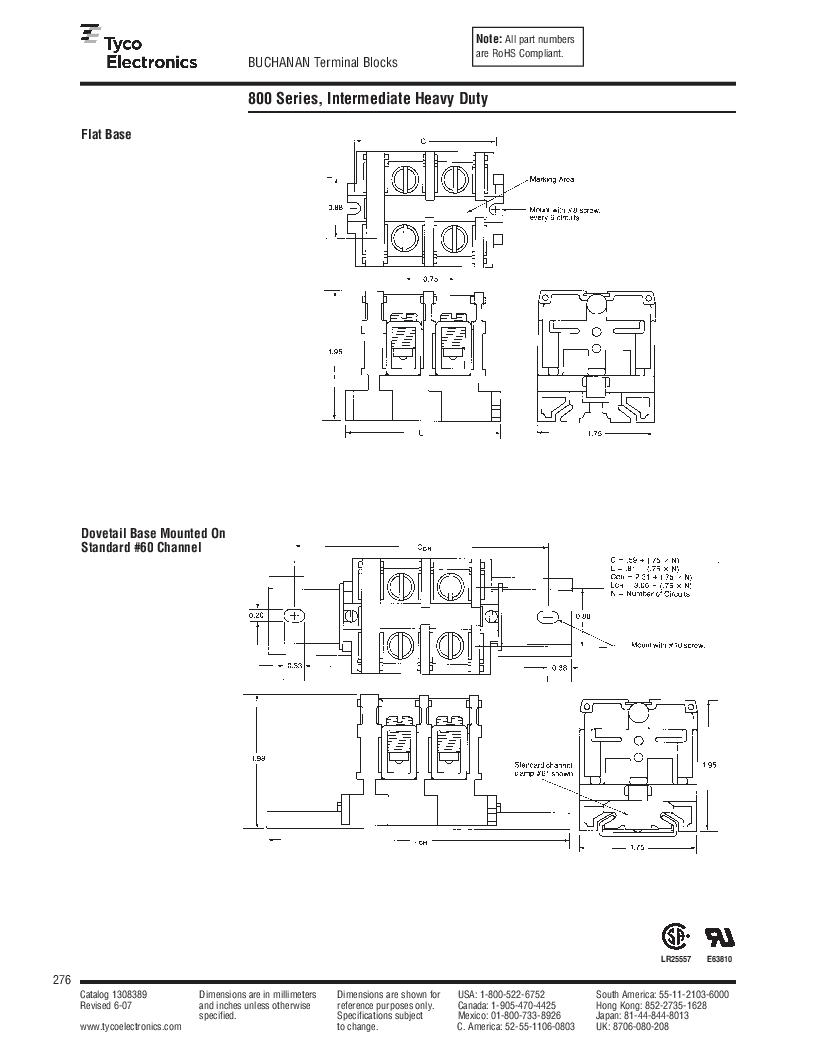 1-1437392-8 ,TE Connectivity厂商,DIN Rail Terminal Blocks TERM BLOCK END SECTION NEMA GRAY, 1-1437392-8 datasheet预览  第38页