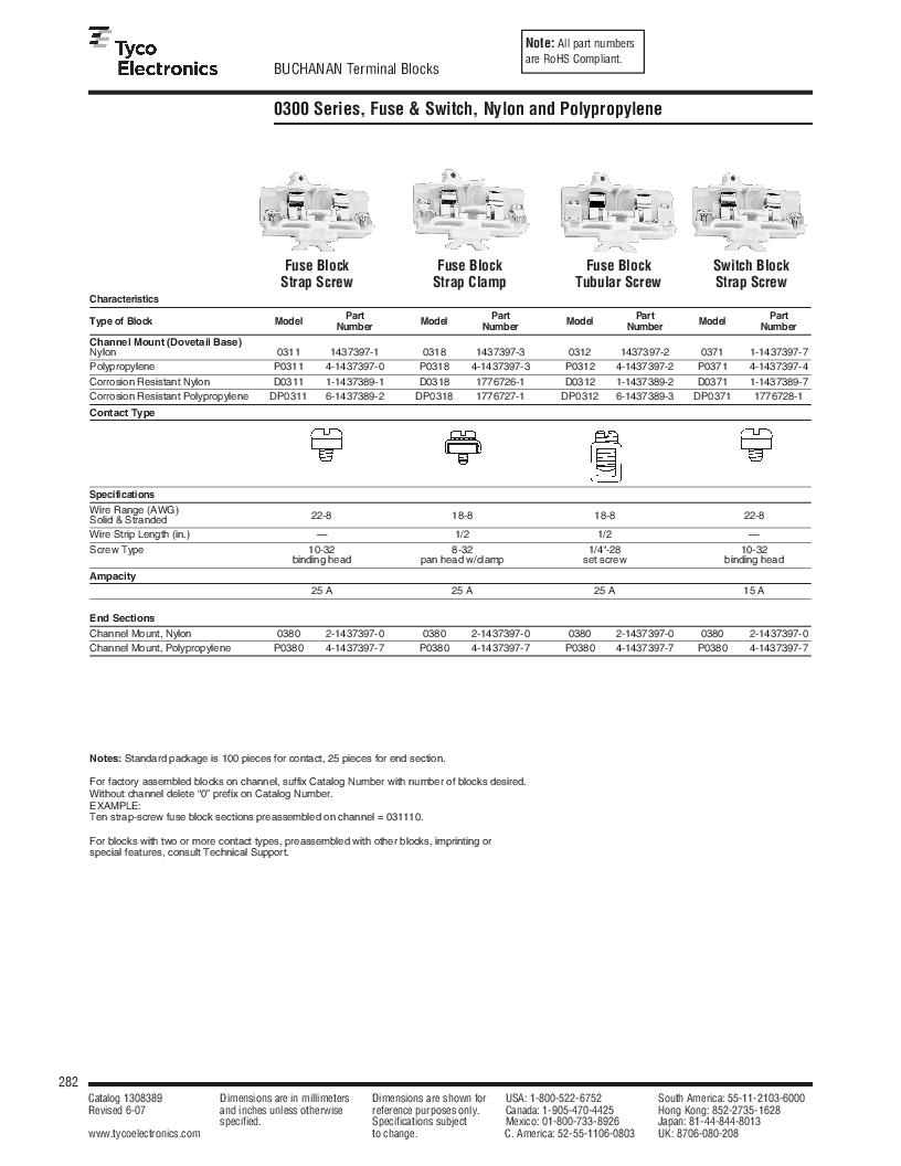 1-1437392-8 ,TE Connectivity厂商,DIN Rail Terminal Blocks TERM BLOCK END SECTION NEMA GRAY, 1-1437392-8 datasheet预览  第44页