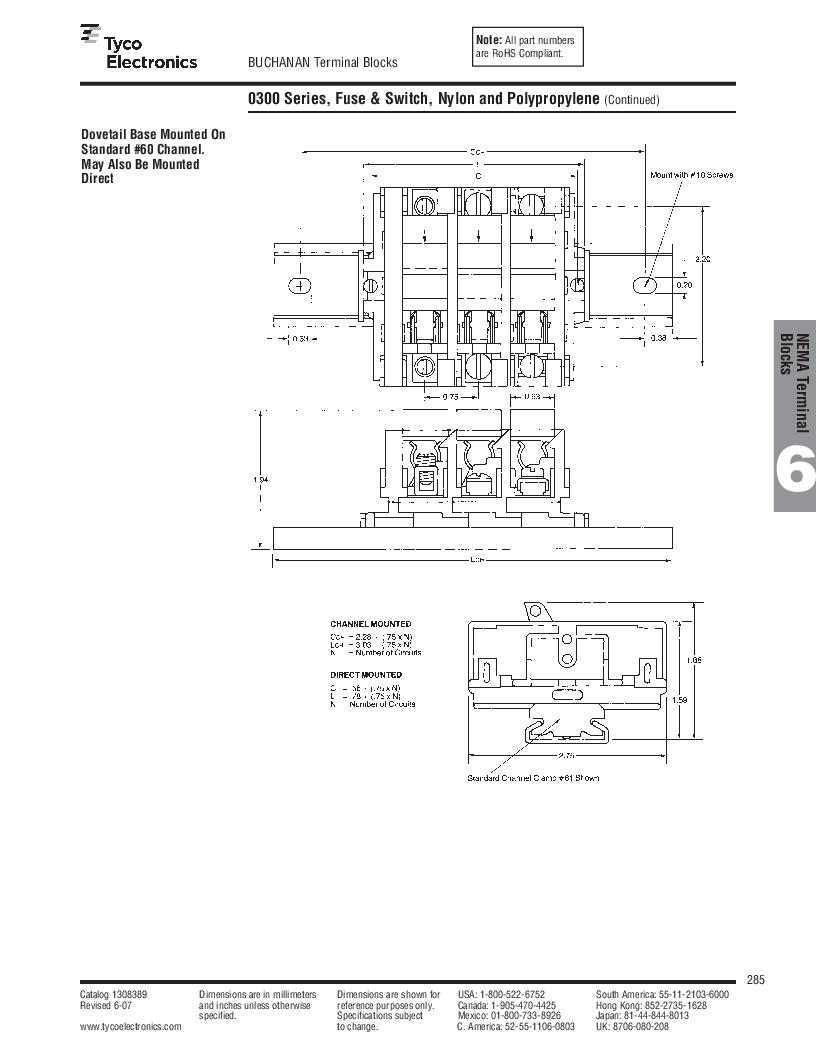 1-1437392-8 ,TE Connectivity厂商,DIN Rail Terminal Blocks TERM BLOCK END SECTION NEMA GRAY, 1-1437392-8 datasheet预览  第47页