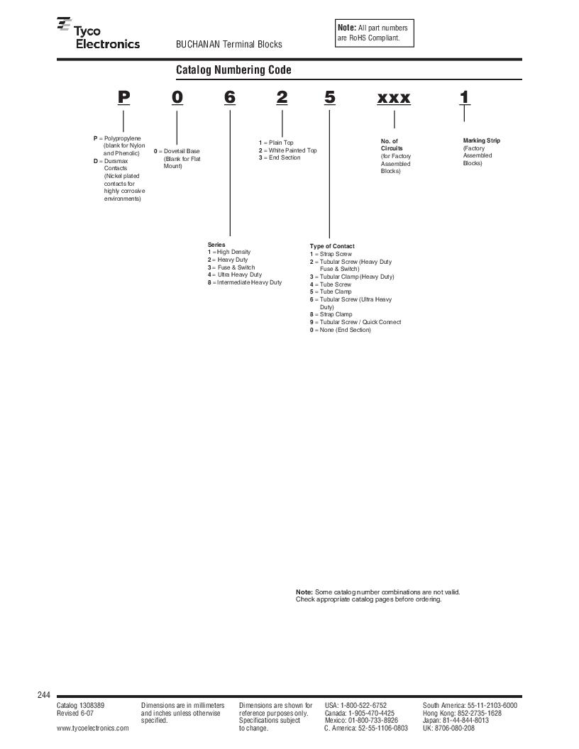 1-1437392-8 ,TE Connectivity厂商,DIN Rail Terminal Blocks TERM BLOCK END SECTION NEMA GRAY, 1-1437392-8 datasheet预览  第6页