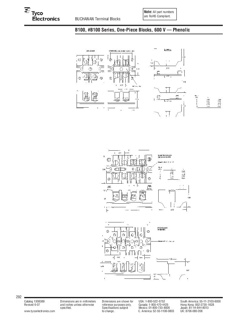 1-1437392-8 ,TE Connectivity厂商,DIN Rail Terminal Blocks TERM BLOCK END SECTION NEMA GRAY, 1-1437392-8 datasheet预览  第54页