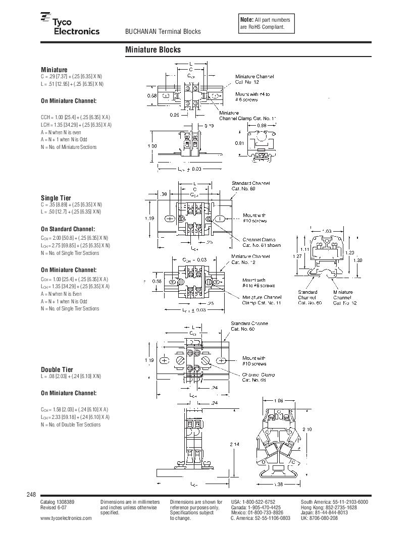 1-1437392-8 ,TE Connectivity厂商,DIN Rail Terminal Blocks TERM BLOCK END SECTION NEMA GRAY, 1-1437392-8 datasheet预览  第10页