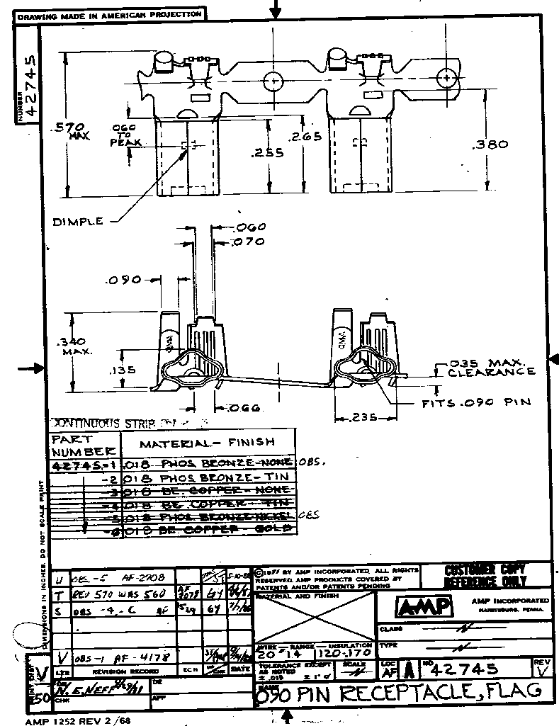 42745-2 ,TE Connectivity厂商,CONN RECEPT 14-20 AWG TIN CRIMP, 42745-2 datasheet预览  第1页