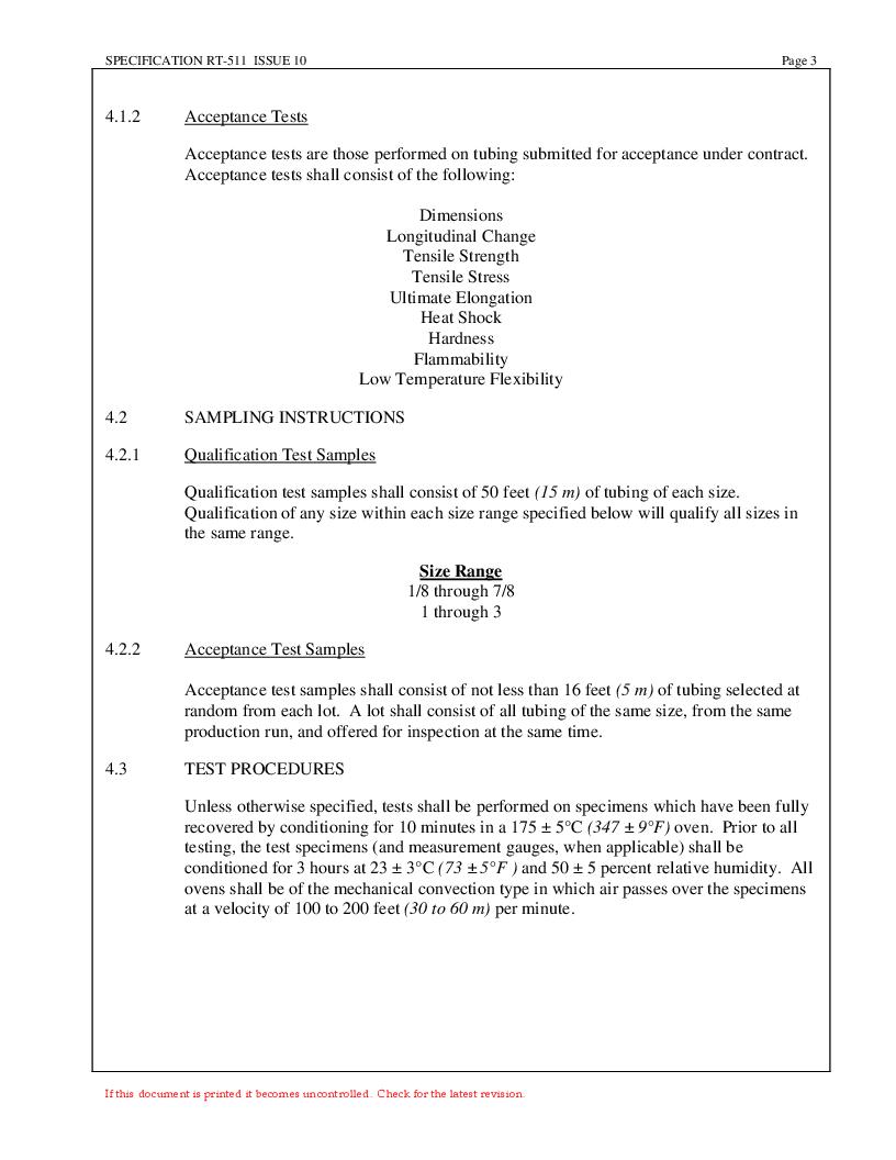 NTFR-1-1/2-0-SP-CS5445 ,TE Connectivity厂商,Heat Shrink Tubing & Sleeves PRICE PER FT, NTFR-1-1/2-0-SP-CS5445 datasheet预览  第3页