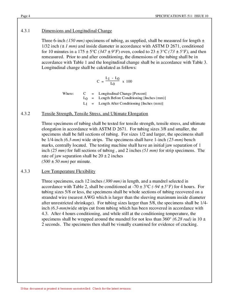 NTFR-1-1/2-0-SP-CS5445 ,TE Connectivity厂商,Heat Shrink Tubing & Sleeves PRICE PER FT, NTFR-1-1/2-0-SP-CS5445 datasheet预览  第4页