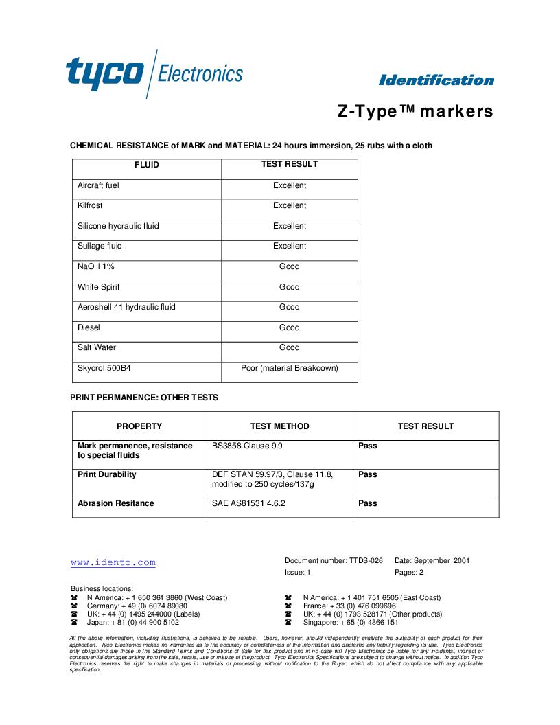 EC5679-000 ,TE Connectivity厂商,Wire Identification 11551924, EC5679-000 datasheet预览  第2页