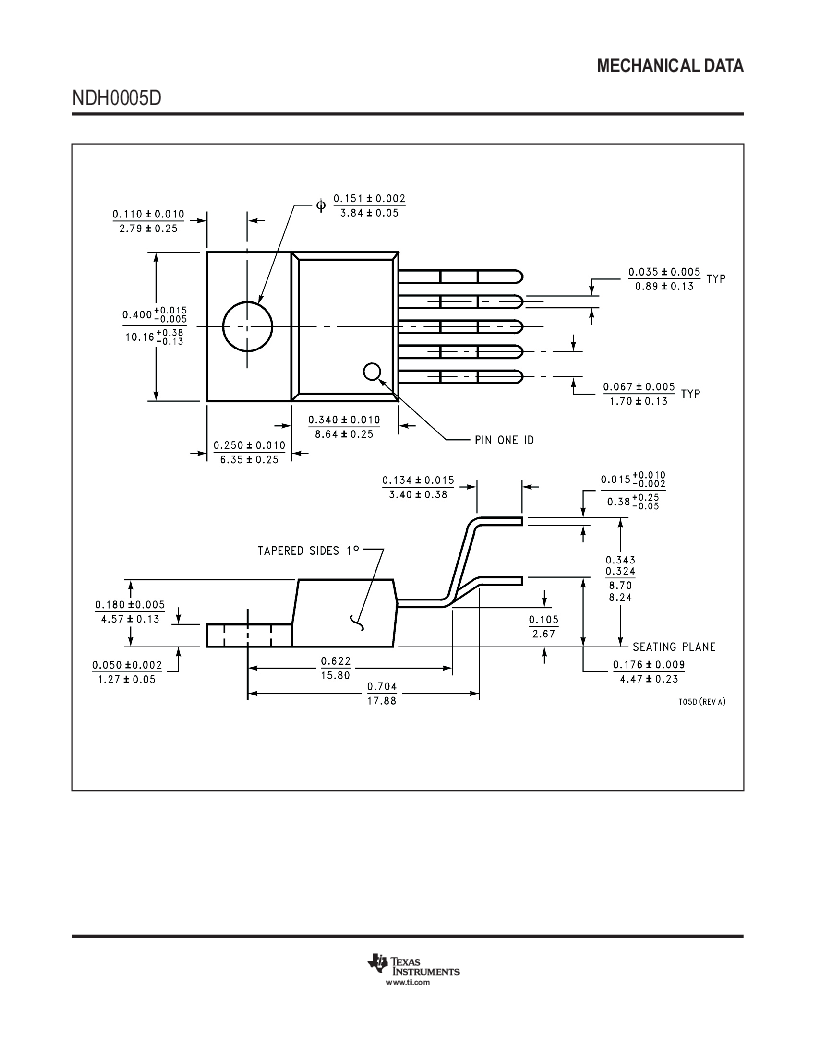 LM2596SX-5.0 ,Texas Instruments厂商,Switching Converters, Regulators & Controllers, LM2596SX-5.0 datasheet预览  第38页