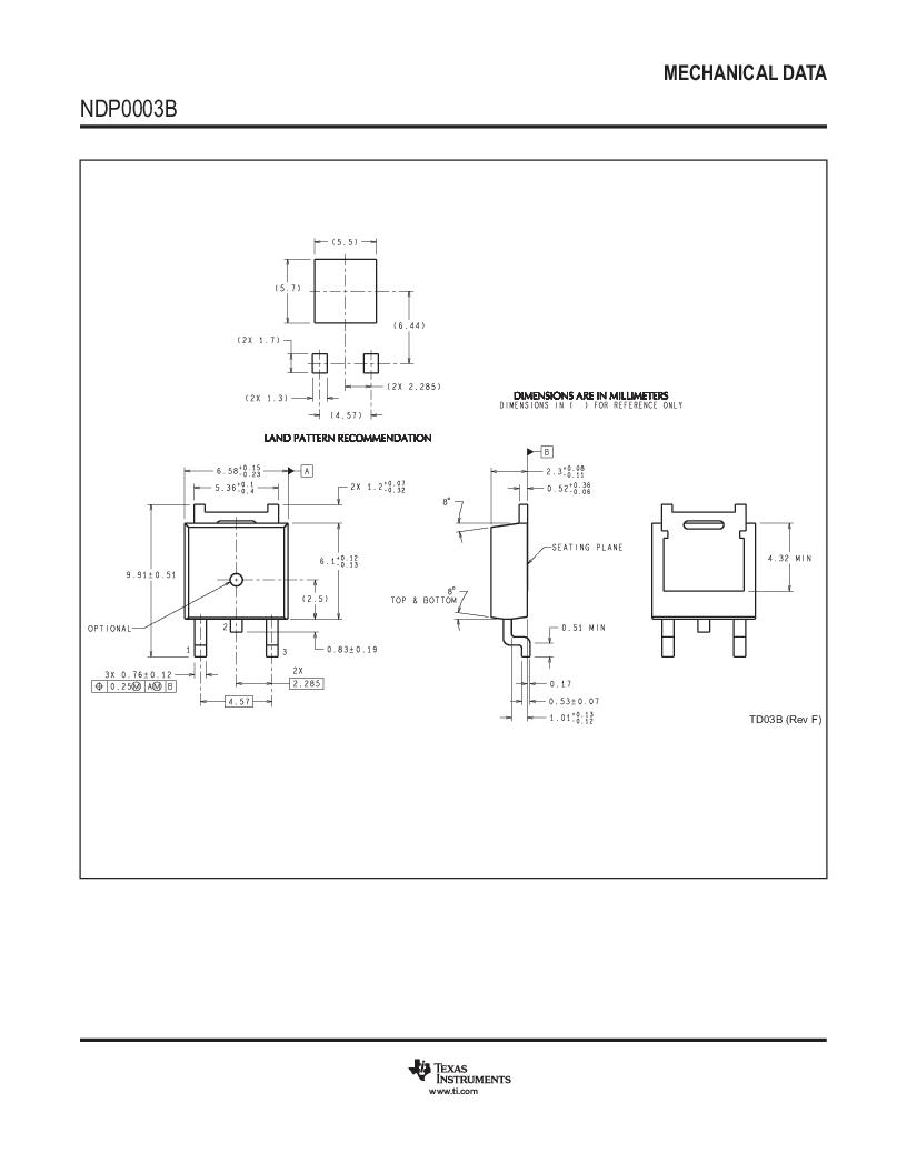 LM317AEMP ,Texas Instruments厂商,IC REG LDO ADJ 1A SOT-223, LM317AEMP datasheet预览  第36页