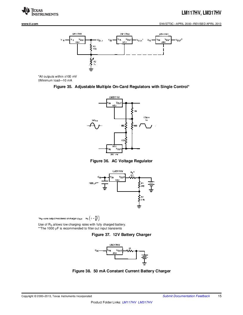 LM317HVK STEEL/NOPB ,Texas Instruments厂商,IC REG LDO ADJ 1.5A TO-3, LM317HVK STEEL/NOPB datasheet预览  第15页