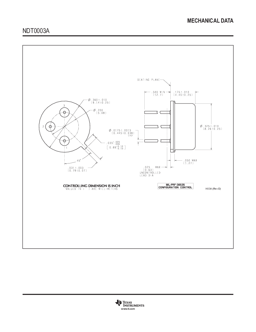 LM317HVK STEEL/NOPB ,Texas Instruments厂商,IC REG LDO ADJ 1.5A TO-3, LM317HVK STEEL/NOPB datasheet预览  第20页