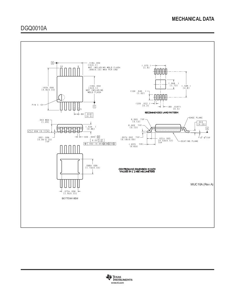 LM3409HVMY/NOPB ,Texas Instruments厂商,LED Drivers PFET BUCK CONTROLLER, LM3409HVMY/NOPB datasheet预览  第42页