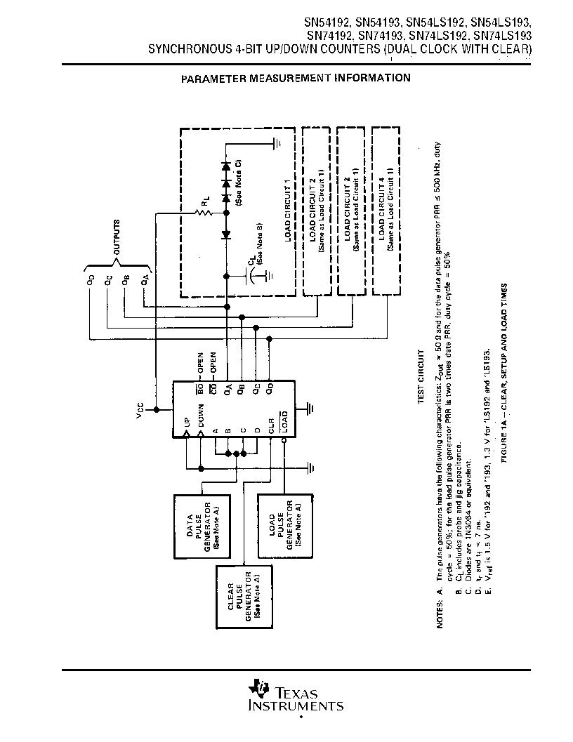 sn74ls193dr pdf下载,texas