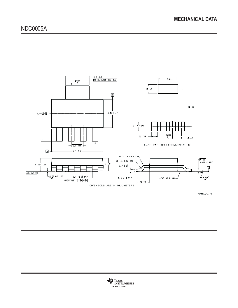LP38692SD-1.8/NOPB ,Texas Instruments厂商,1A Low Dropout CMOS Linear Regulators, Stable with Ceramic Output Capacitors 6-WSON -40 to 125, LP38692SD-1.8/NOPB datasheet预览  第24页