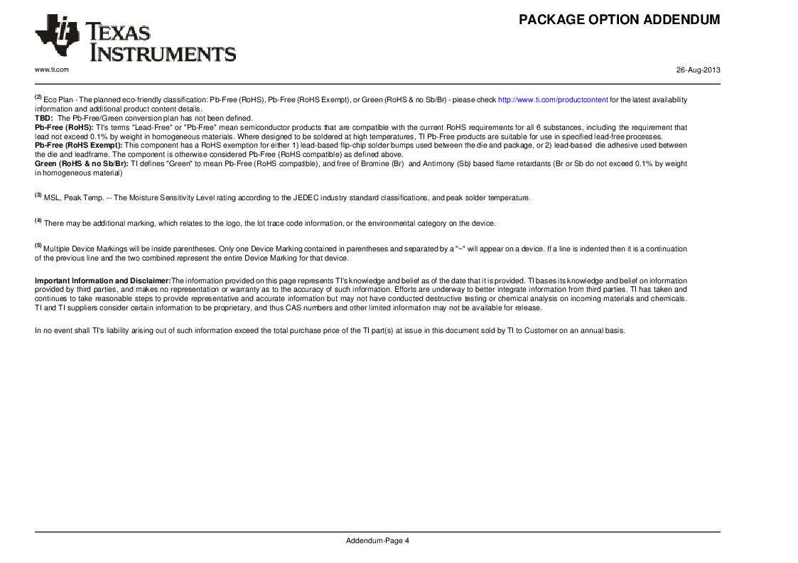 MSP430F147IPMR-KAM ,Texas Instruments厂商,16-Bit Ultra-Low-Power Microcontroller, 32 kB Flash, 1KB RAM, 12 bit ADC, 2 USARTs, HW multiplier 64-LQFP -40 to 85, MSP430F147IPMR-KAM datasheet预览  第57页