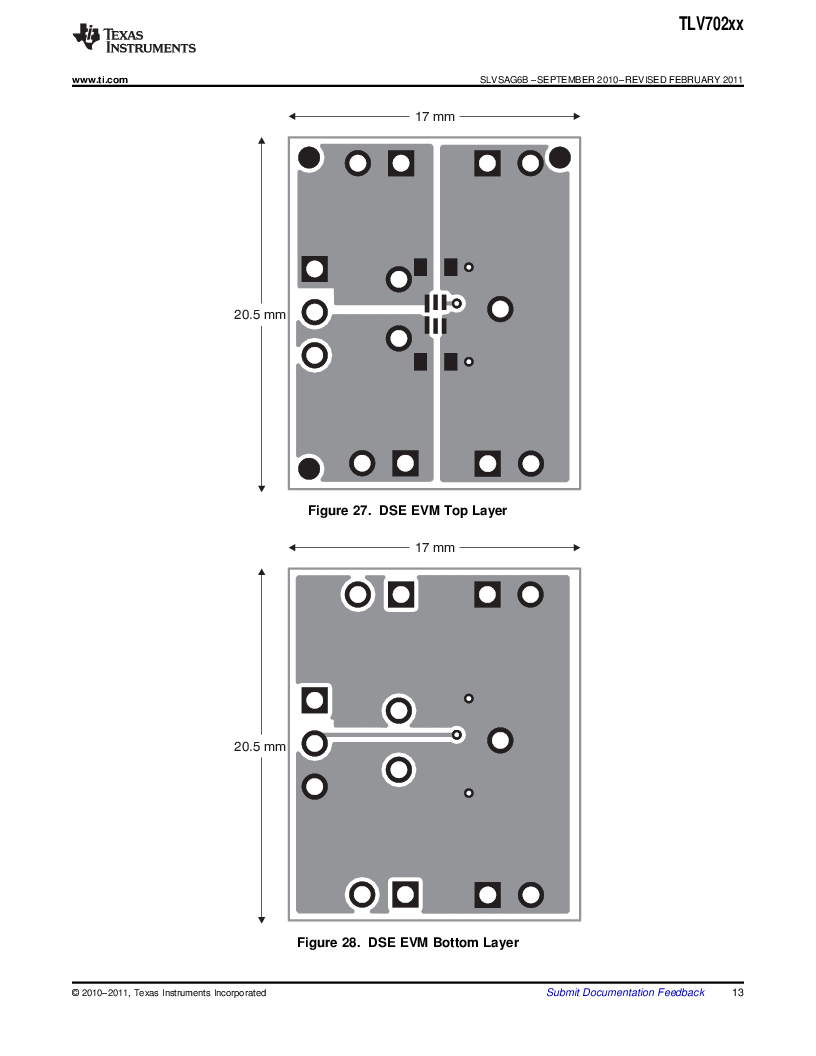 TLV70225DBVR ,Texas Instruments厂商,IC REG LDO 2.5V .3A SOT23-5, TLV70225DBVR datasheet预览  第13页