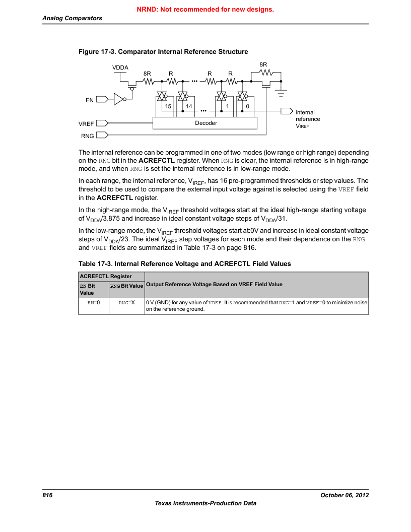 LM3S1B21 ,Texas Instruments厂商,Stellaris LM3S Microcontroller 100-LQFP -40 to 85, LM3S1B21 datasheet预览  第816页