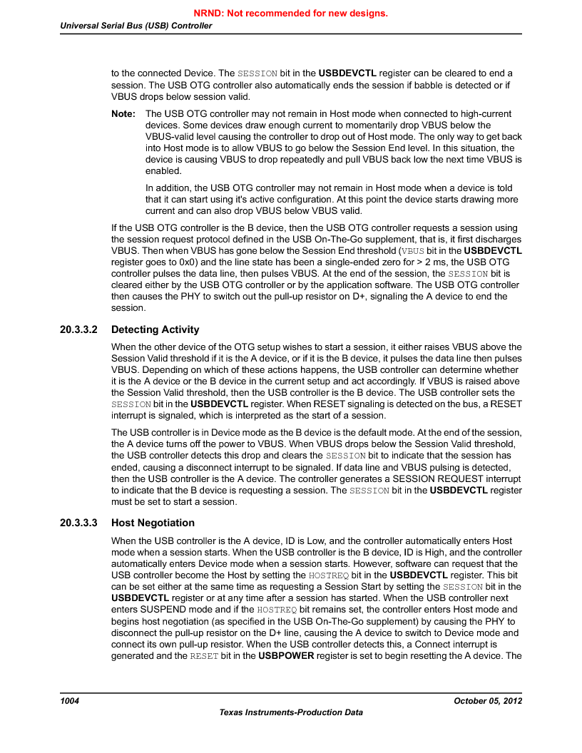 LM3S9790-IQC80-C5T ,Texas Instruments厂商,Stellaris LM3S Microcontroller 100-LQFP -40 to 85, LM3S9790-IQC80-C5T datasheet预览  第1004页