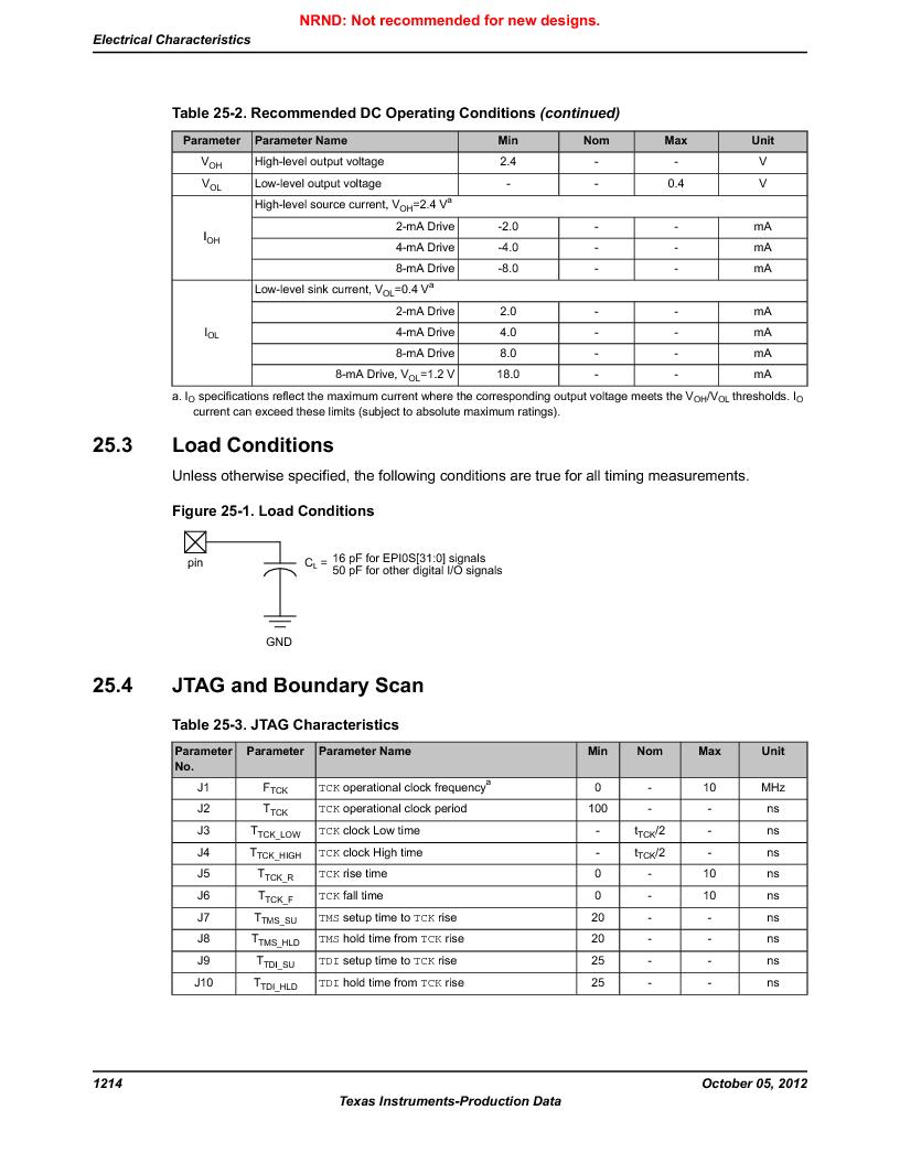 LM3S9790-IQC80-C5T ,Texas Instruments厂商,Stellaris LM3S Microcontroller 100-LQFP -40 to 85, LM3S9790-IQC80-C5T datasheet预览  第1214页
