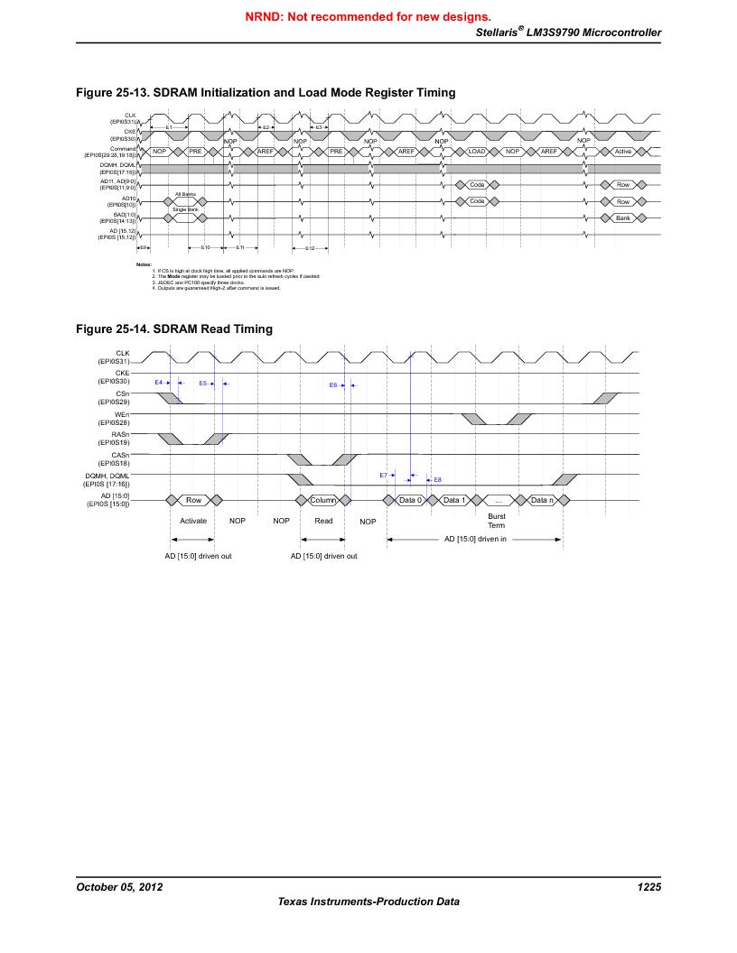 LM3S9790-IQC80-C5T ,Texas Instruments厂商,Stellaris LM3S Microcontroller 100-LQFP -40 to 85, LM3S9790-IQC80-C5T datasheet预览  第1225页