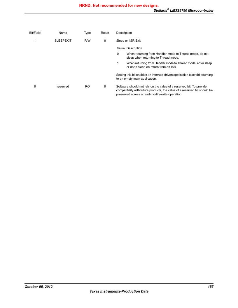 LM3S9790-IQC80-C5T ,Texas Instruments厂商,Stellaris LM3S Microcontroller 100-LQFP -40 to 85, LM3S9790-IQC80-C5T datasheet预览  第157页