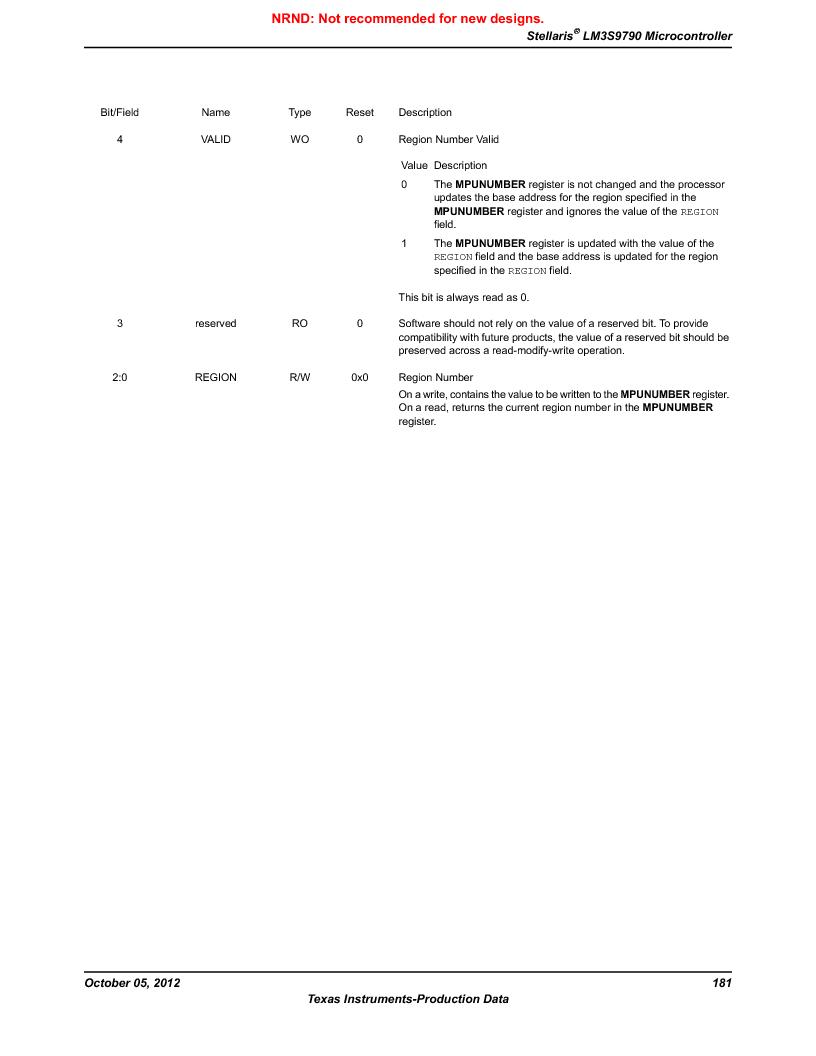 LM3S9790-IQC80-C5T ,Texas Instruments厂商,Stellaris LM3S Microcontroller 100-LQFP -40 to 85, LM3S9790-IQC80-C5T datasheet预览  第181页