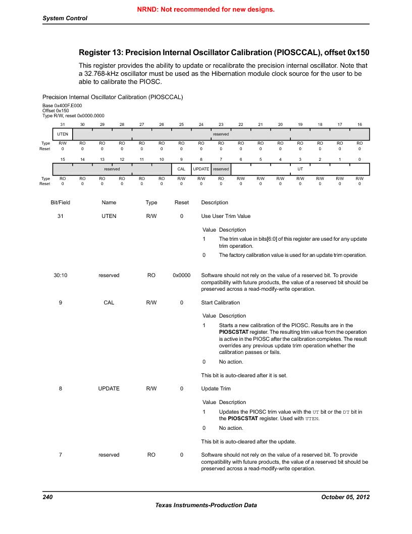 LM3S9790-IQC80-C5T ,Texas Instruments厂商,Stellaris LM3S Microcontroller 100-LQFP -40 to 85, LM3S9790-IQC80-C5T datasheet预览  第240页