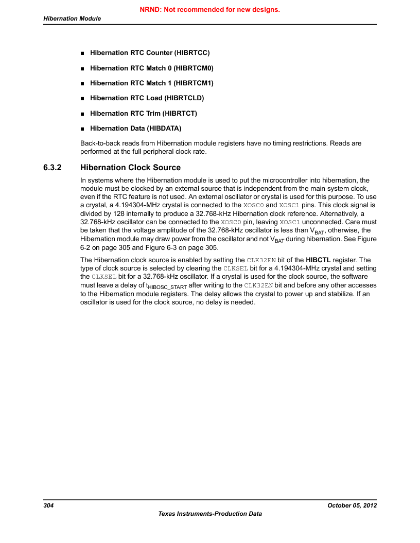 LM3S9790-IQC80-C5T ,Texas Instruments厂商,Stellaris LM3S Microcontroller 100-LQFP -40 to 85, LM3S9790-IQC80-C5T datasheet预览  第304页